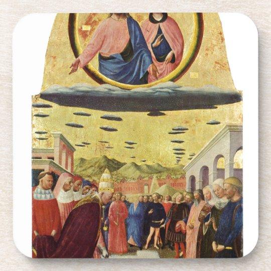 Jesus Rides a UFO Coaster