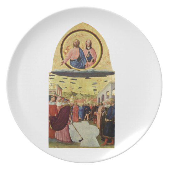 Jesus Rides a UFO Plate