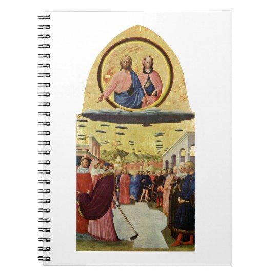 Jesus Rides a UFO Spiral Notebook