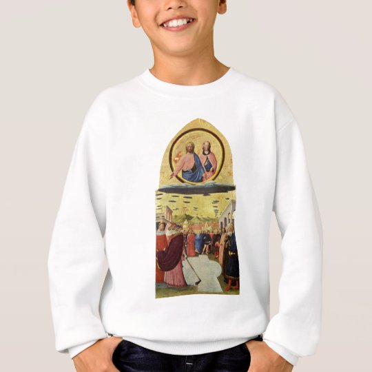 Jesus Rides a UFO Sweatshirt