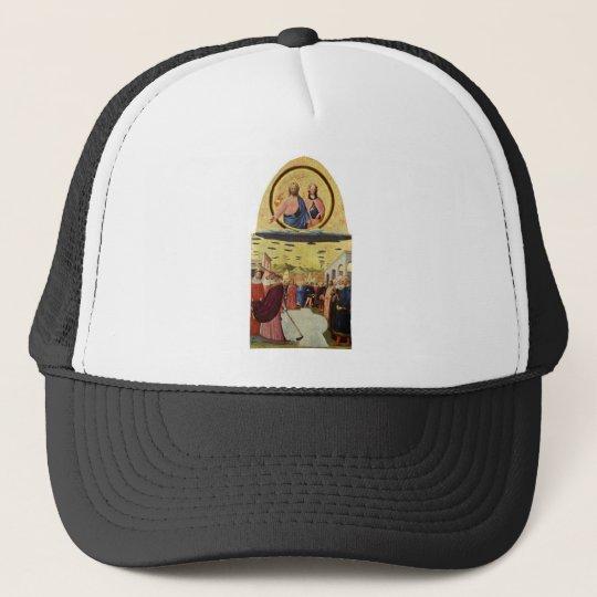 Jesus Rides a UFO Trucker Hat