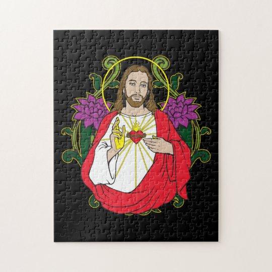 Jesus Sacred Heart Jigsaw Puzzle