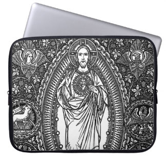 Jesus Sacred Heart Laptop Sleeve