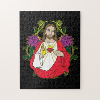 Jesus Sacred Heart Puzzle
