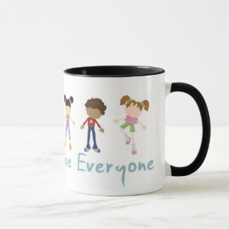 'Jesus said Love Everyone' mug