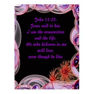 Jesus said to her postcard