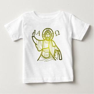 Jesus saves Alpha and Omega Baby T-Shirt