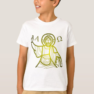 Jesus saves Alpha and Omega T-Shirt