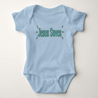 Jesus Saves Baby Jersey Bodysuit