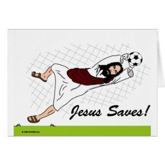 JESUS SAVES! CARD