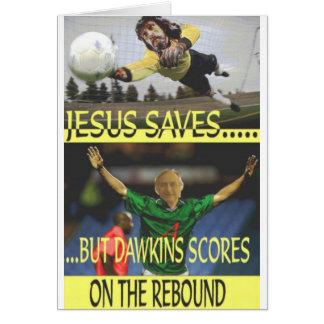 Jesus Saves... Card