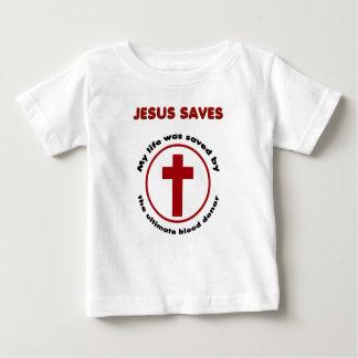 jesus saves, christian religion gift t shirt