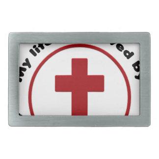 jesus saves, christian religion gift t shirt belt buckle