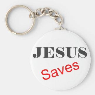 Jesus Saves Keychain