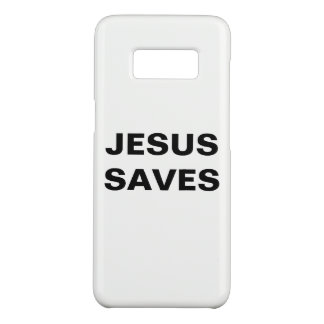 """Jesus Saves"" Samsung Galaxy S8 Case"