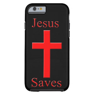 Jesus saves tough iPhone 6 case