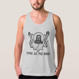 Jesus Says Come At Me Bro Tank Top
