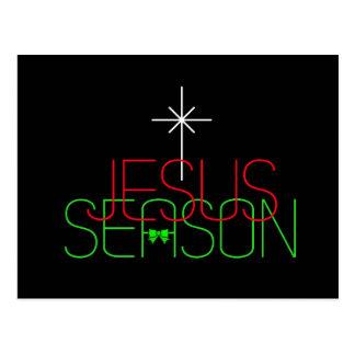 Jesus Season Postcard