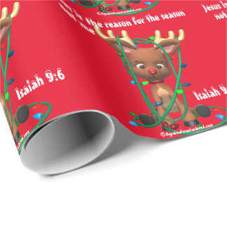 Jesus Season Wrapping Paper