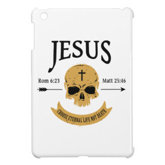 Jesus Skull Eternal Life Christian iPad Mini Cases