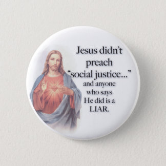 Jesus Social Justice button