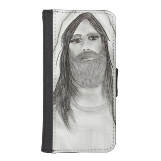 JESUS STANDING II iPhone SE/5/5s WALLET CASE
