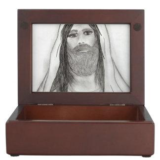 JESUS STANDING II KEEPSAKE BOX