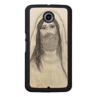 JESUS STANDING II WOOD PHONE CASE
