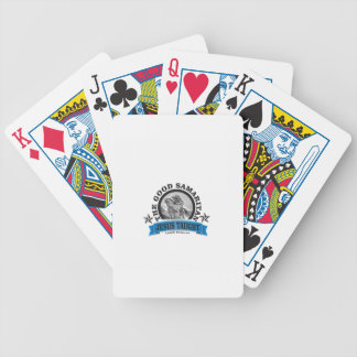 Jesus taught good samaritan poker deck