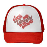 Jesus Taught Love Trucker Hat