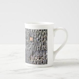 Jesus Tea Cup