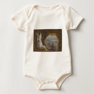 Jesus Tempted in Wilderness Baby Bodysuit