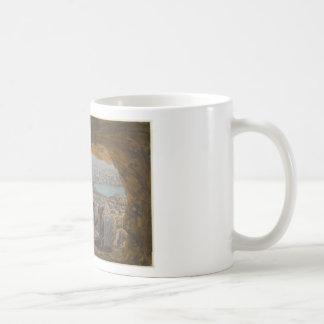 Jesus Tempted in Wilderness Coffee Mug