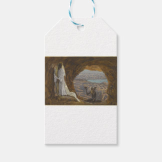 Jesus Tempted in Wilderness Pack Of Gift Tags