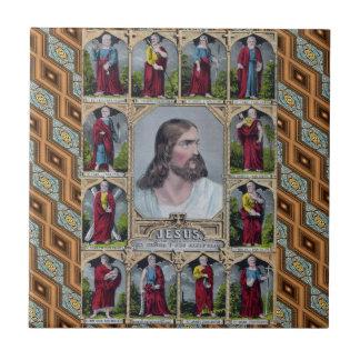 Jesus & The 12 Apostles Tile