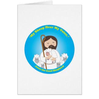 Jesus the Good Shepherd Card