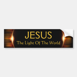Jesus, The Light of the World Bumper Sticker
