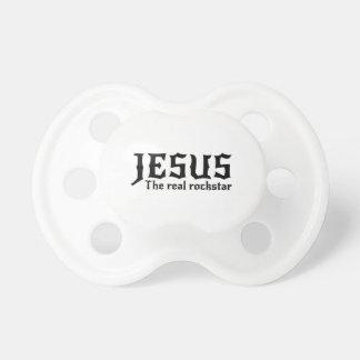 Jesus the Real Rockstar Pacifier