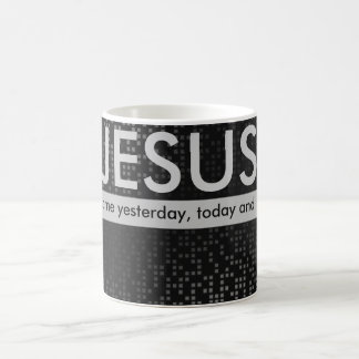 Jesus. The same yesterday, today and forever. Coffee Mug