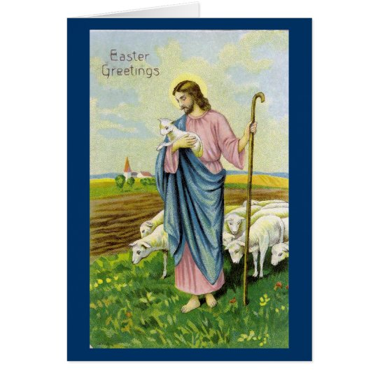 Jesus the Shepherd Card