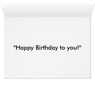 "JESUS - ""the undisputed BOSS!"" (Birthday card) Greeting Card"