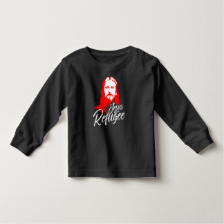Jesus Toddler Dark Long Sleeve T-Shirt