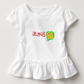 'Jesus' Toddler Ruffle T-Shirt