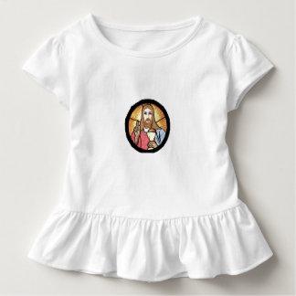 Jesus Toddler Ruffle Tee