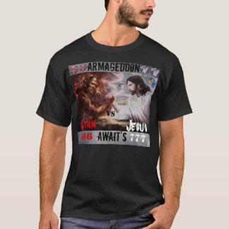 Jesus VS Satan T/shirt T-Shirt