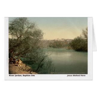 Jesus Walked Here: Jordan River Card
