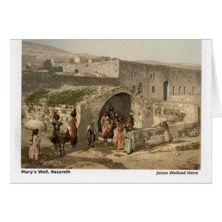 Jesus Walked Here: Nazareth Card