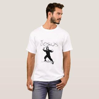 Jesus was a Ninja T shirt 4
