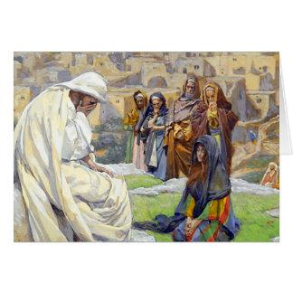 Jesus Wept Sympathy Greeting Card