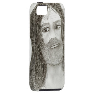 Jesus with Halo iPhone 5 Cases